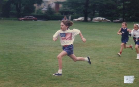 July 4, on the Village Green, circa 1992.