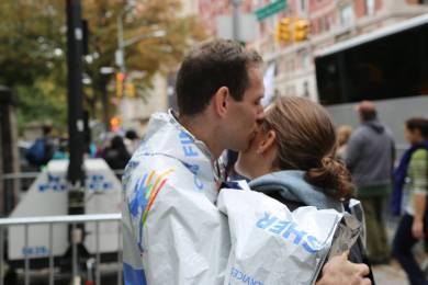 Post-NYC Marathon.